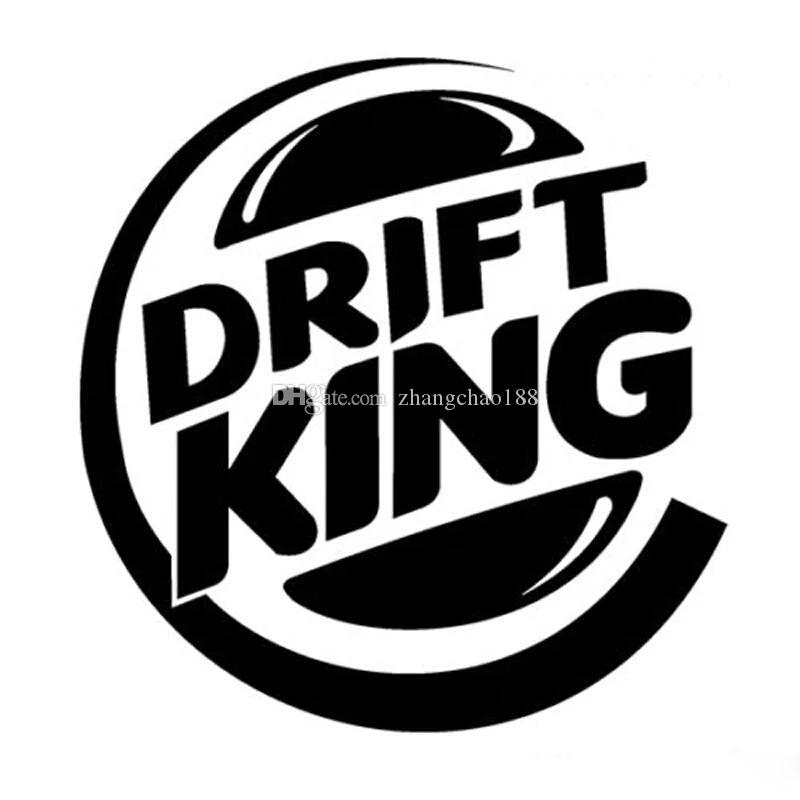 1212cm Drift King Sports Passionated Style Car Sticker Auto