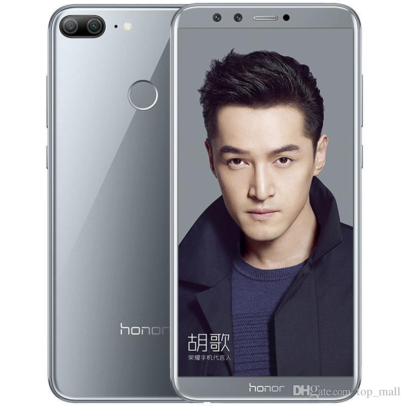 Original Global Huawei Honor 9 Lite Phone 3G RAM 32G ROM Mobilephoen Android 8.0 Octa Core 5.65'' 2160X1080P 4 Camera SmartPhone