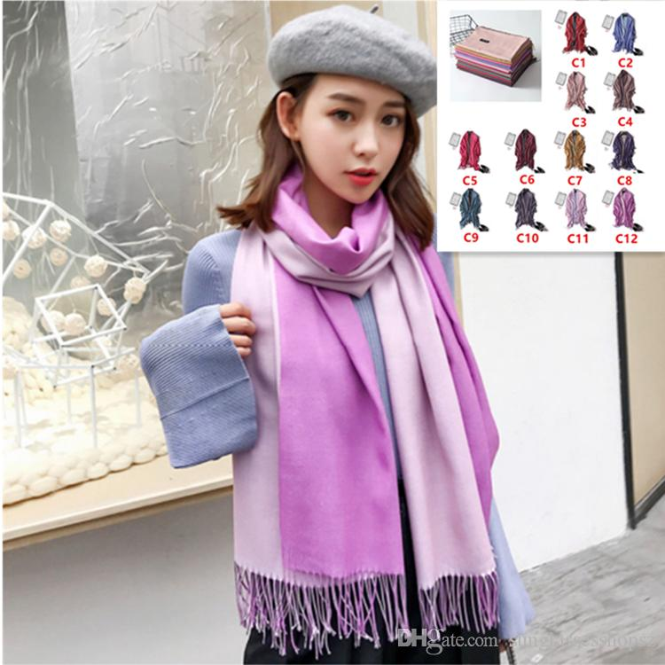 6291043b6 2018 Classic Summer Scarves For Women Scarves And Wraps Solid ...