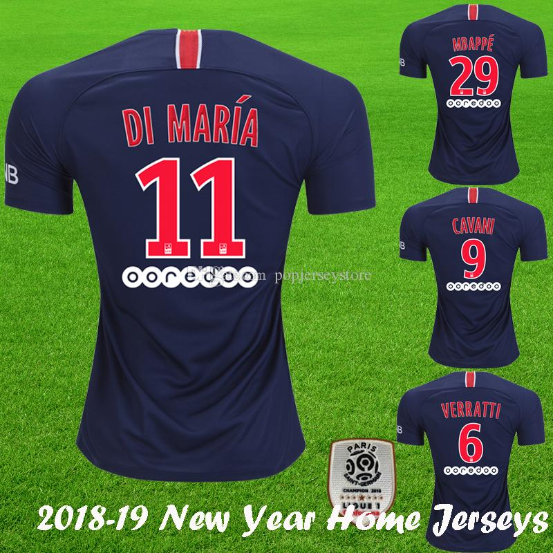 Jersey 2018 19 Psg. compre 2018 2019 novo jerseys psg 2018 19 paris . 8f5ba7405