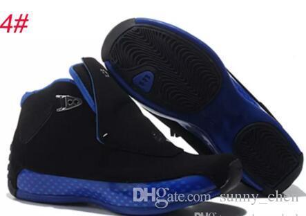 con box 18 scarpe da basket in pelle scamosciata rossa 18s gym rosso nero scarpe sportive sneakers outdoor athletics uomo size7-12 shippment veloce calzature stivali
