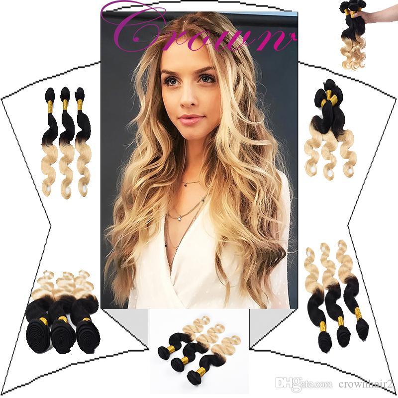 Hair Extensions Cheap Brazilian Human Hair Bundles Body Wave 1b613