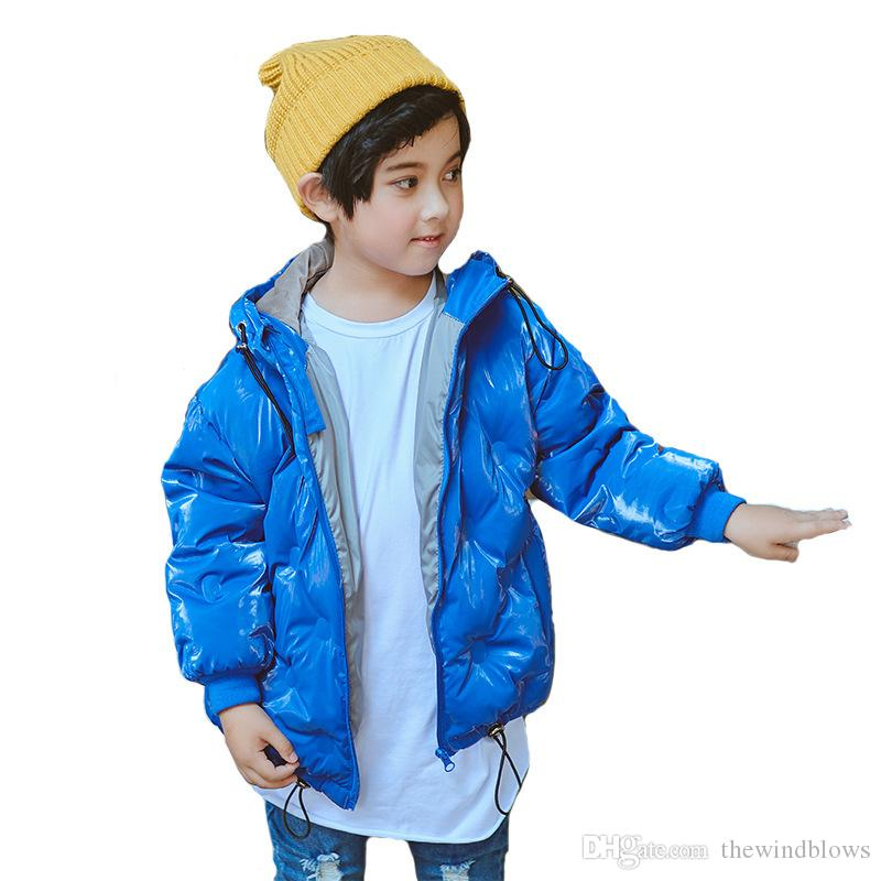 17d785eb9 Children Winter Down Jackets Kids Warm Down Coat For Girls Baby Boys Thick  Jackets Children Snowsuit Outerwear Clothes
