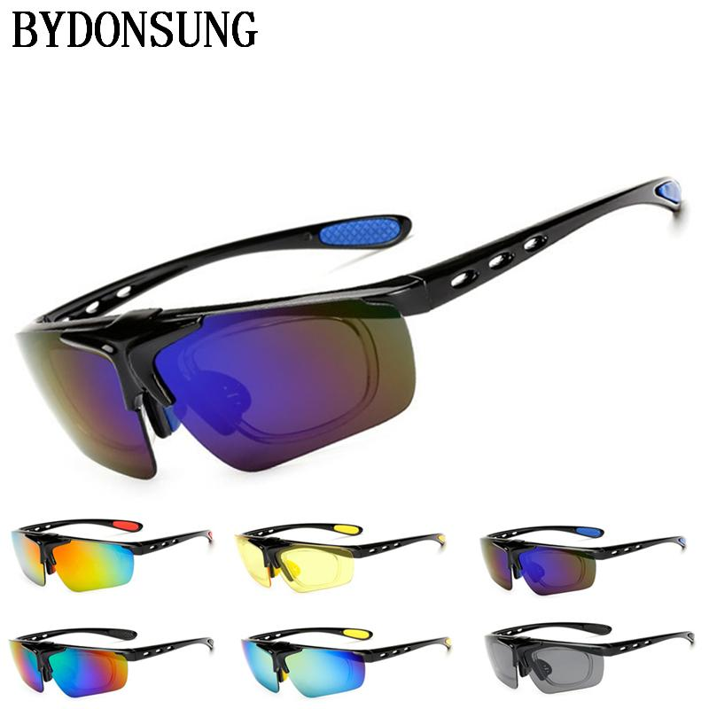 1097e1bea86c Sports Sunglasses Men Road Cycling Glasses Mountain Bike Bicycle ...
