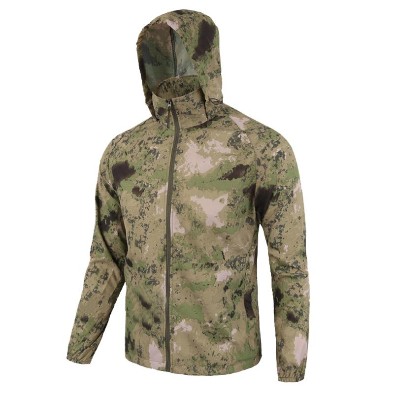 0c942ec6ad5 Men Summer Lightweight Jacket Skin Tactical Thin Waterproof Quick Dry  Raincoat Military Jacket Camouflage Breathable Windbreake D18100805 Coats  And Jackets ...