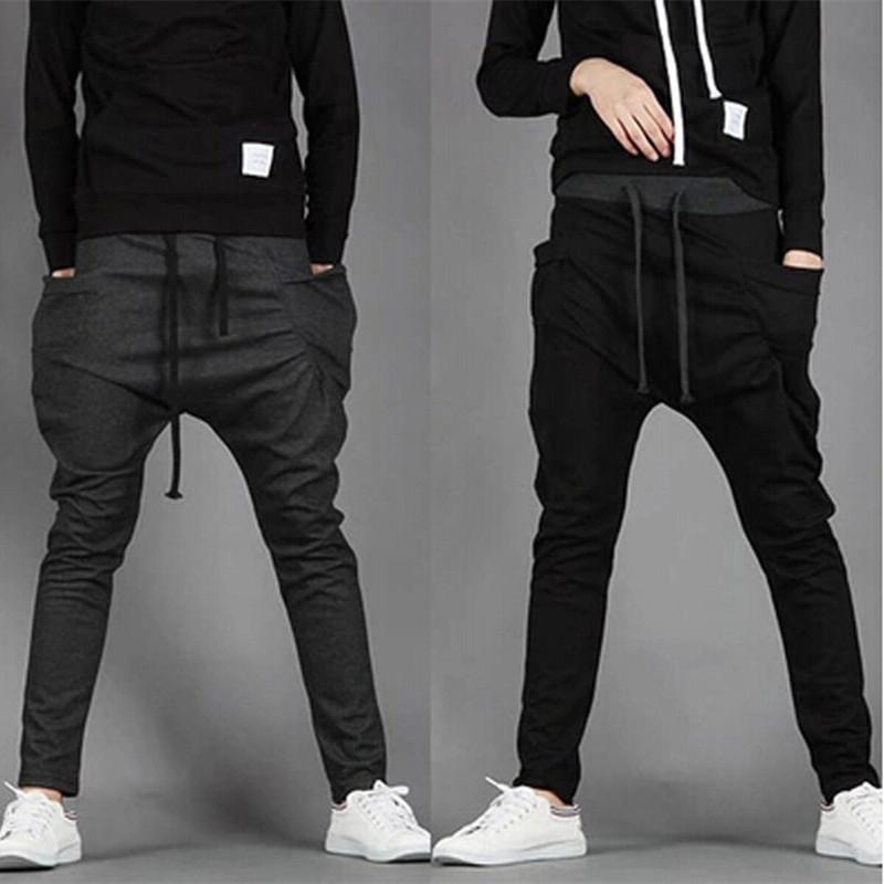 Herren Hosen Harem 8 Jogginghose Hop 2018 Neue Hohe Casual Farben Jogger Taschen Outwear Hip Solide Trend Männer Große Qualität n0OmN8wyv