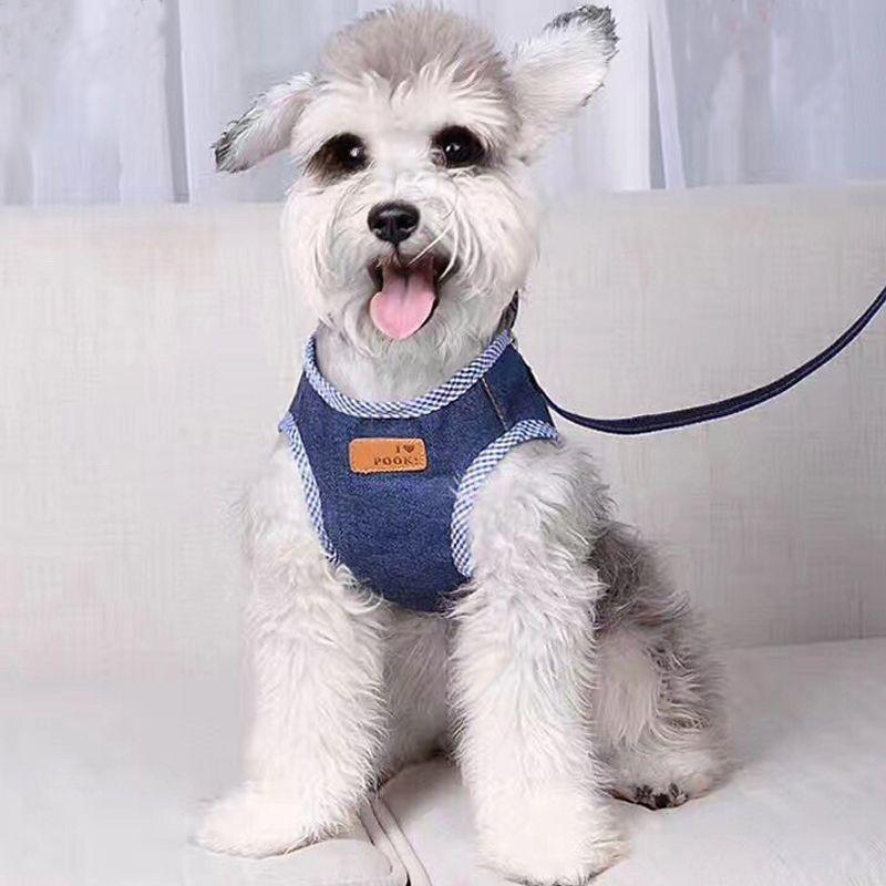 adjustable pet dog harness puppy vest for adjustable pet dog harness puppy vest for small dog leads strap set