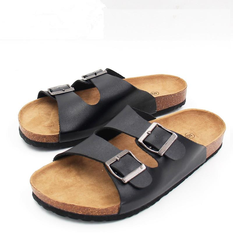 55b6a270c1ee 2019 Lotus Jolly Flip Flops 2017 Summer Soft Cork Slides Sandals Slippers  Women Lovers Casual Beach Shoes Sandalias Zapatos Mujer From China smoke