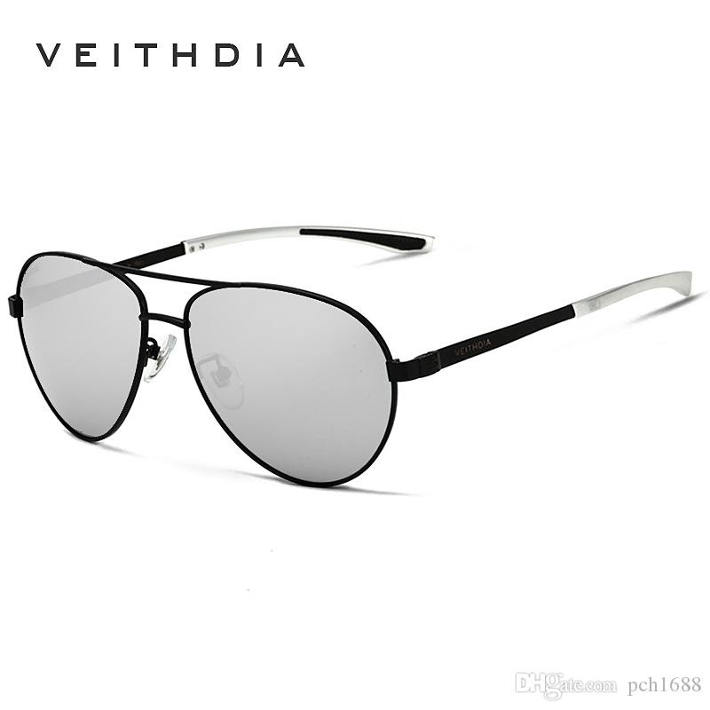 d48772d272 VEITHDIA Brand Polarized Men S Vintage Sunglasses Pilot Aluminum Alloy Frame  Sun Glasses Man Sports Goggle Driving Eyewear Accessories 3801 Glasses  Online ...