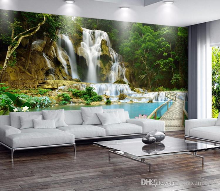 Painting Supplies & Wall Treatments 3d Photo Wallpaper Dolphin Lagoon Murals Bedroom Living Room Sofa Tv Background Wall Mural Wall Paper Various Styles