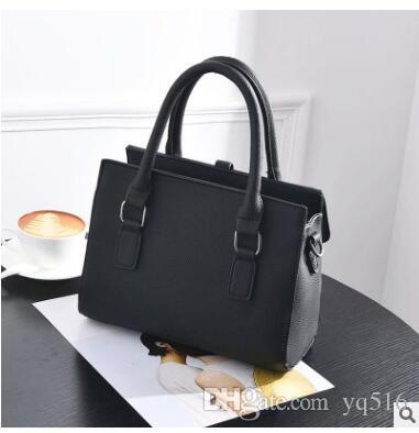 Le migliori marche famose di marca donne casual tote bag travel jet set in pelle PU borse
