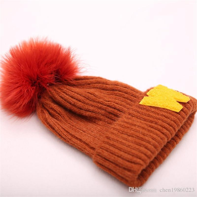 4bde26dc57726 Compre Sombrero De Lana De Invierno Padre Hijo Sombrero De Pelo Real  Sombrero De Pavo Etiqueta De Pelo De Turquía Gorro De Avestruz De Sombrero  Caliente A ...