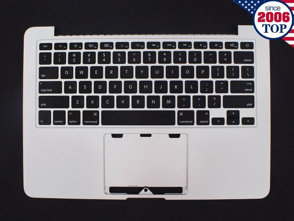 premium selection e7c6f a5bf2 For Macbook Pro Retina 13 A1502 Topcase With Keyboard Upper Top Case  Palmrest US Layout Late 2013 Mid 2014 661-8154