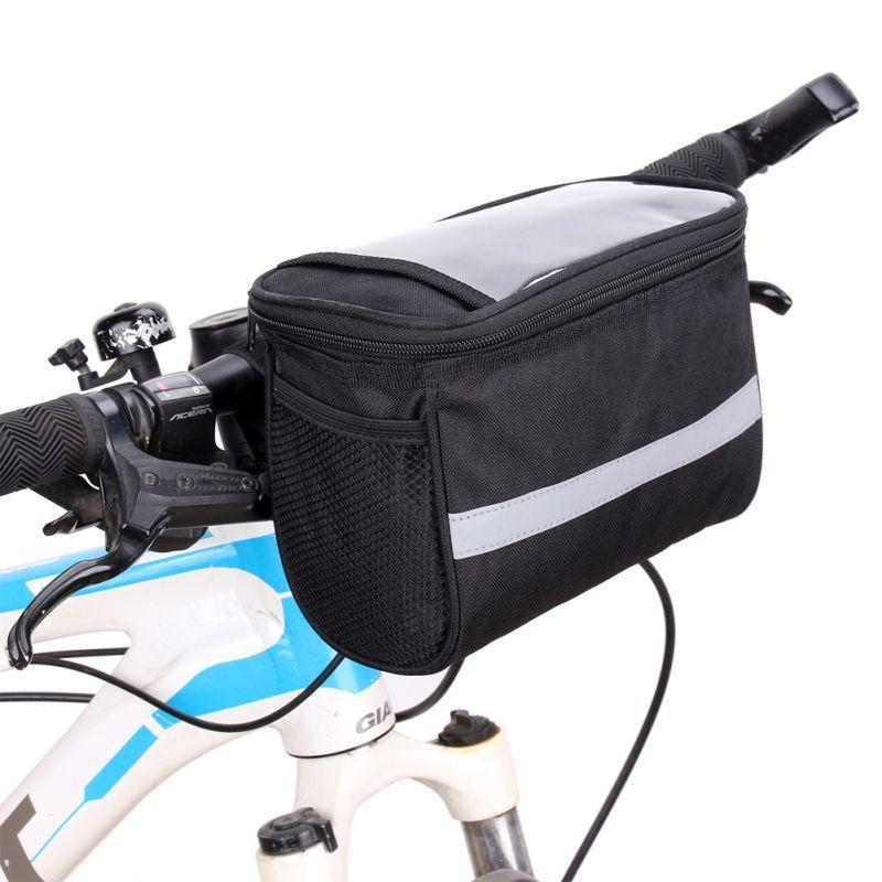 4fc261eca 600D Large Capacity Bike Front Basket Durable Waterproof Tube Handlebar Bag  Outdoor Sport Accessories Bicycle Bags Front Bicycle Basket Waterproof  Pannier ...