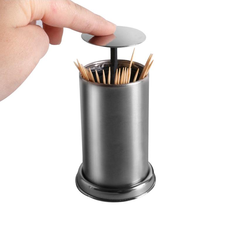 Stainless Steel Toothpick Holders Hotel Restaurant Home Table - Restaurant table accessories