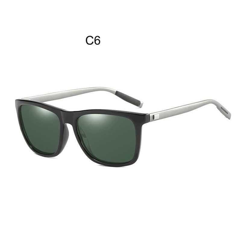 e7c92e4422 Lvvkee Sunglasses Polarized 2018 Aluminum Magnesium High Quality Uv400  Rectangle Men Women Square Sun Glasses Sunglases Cheap Designer Sunglasses  From ...