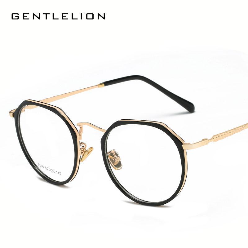d9388e19274a 2019 Unique Designer Glasses Frames Irregular Rims Eyewear Clear Lens  Eyeglasses Decorate Spectacles Cj9156 From Hermane