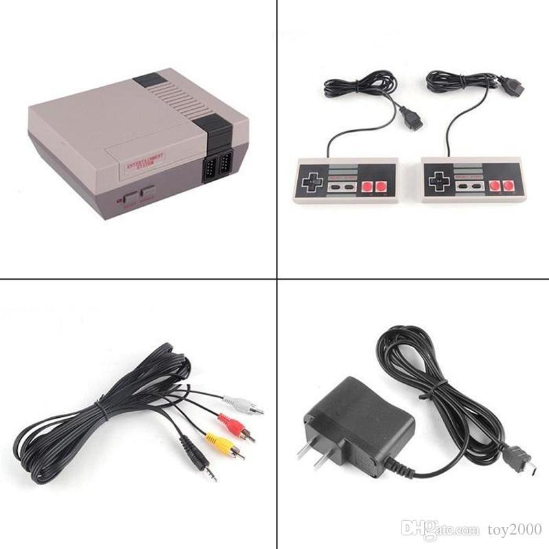 Heiße Ankunft Mini TV 500 600 620 621 821 Spielkonsole Video Handheld für NES Spielkonsolen mit Einzelhandel boxs heißer Verkauf Spielzeug