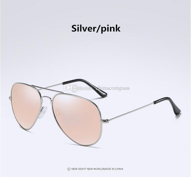 UV400 Pilot Vintage Gölge Polarize Flaş güneş gözlükleri Metal Retro erkek Kadın Moda Güneş Gözlüğü A3025