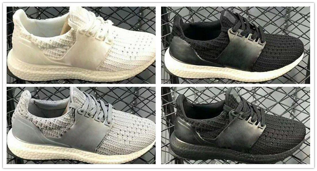 Acheter Adidas Ultra Boost 4.0 UB 4.0 Popcorn 2018 Ultra Boost 3.0  Chaussures De Course Hommes 4.0 Triple Noir Blanc CNY Bébé Garçons Uncaged  Ultra ... e713b6ede415