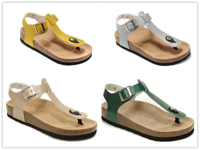 36c4ee9d876 2018 Hot Sale Birkenstock Slippers Sandals For Lazy Sandals Cork Sandals  Men Women Fashion Slippers Size 36 45 Men Boots Slipper Boots From Yll01