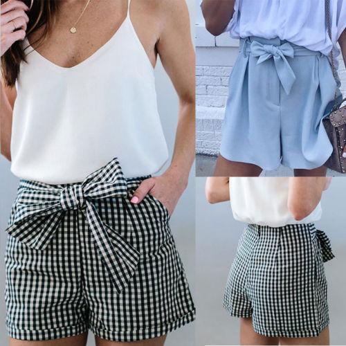 Compre Moda Feminina Shorts Verão Sexy Hot Pants Casual Praia De Cintura  Alta Mini Calças Curtas De Harrvey 43ce172f84b72