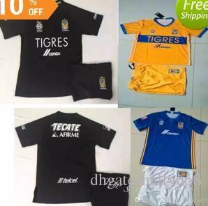 Ninos Tigres Uanl Jersey De Futbol Kits Juegos De Futbol Para Ninos