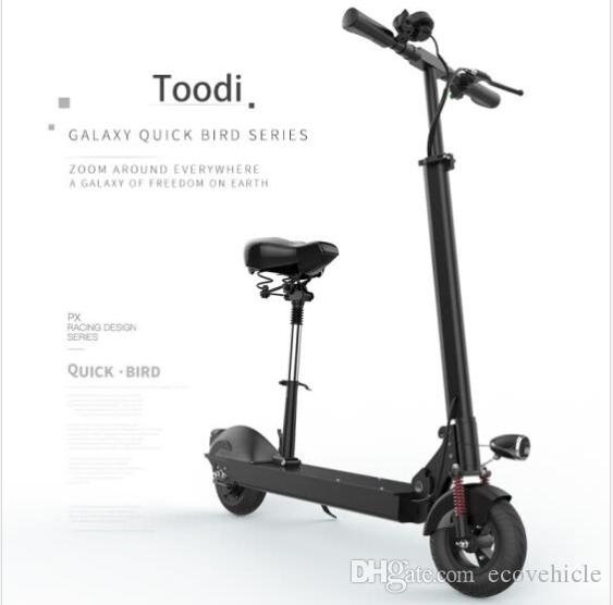 Scooter With Seat >> 2019 Toodi Electric Scooter With Seat Delivery From European