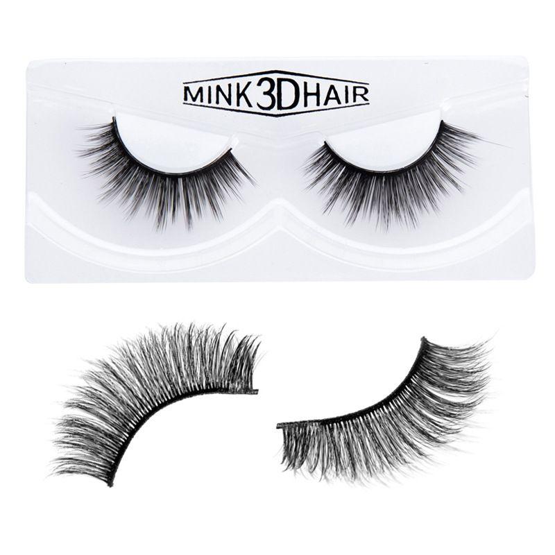 Dropshipping Nuovo trucco HANDAIYAN 3D visone capelli ciglia finte 6 stili fatti a mano bellezza spessa lungo morbido visone ciglia ciglia