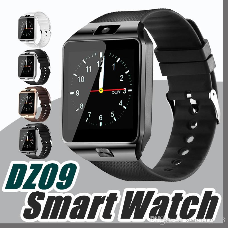7ff915986e7 Compre HOT Dz09 Smart Watch Bluetooth Smartwatch Relógios De Pulso Suporte  Ao Telefone Cartão Sim Esporte Relógio De Pulso Pedômetro Para Iphone  Android ...