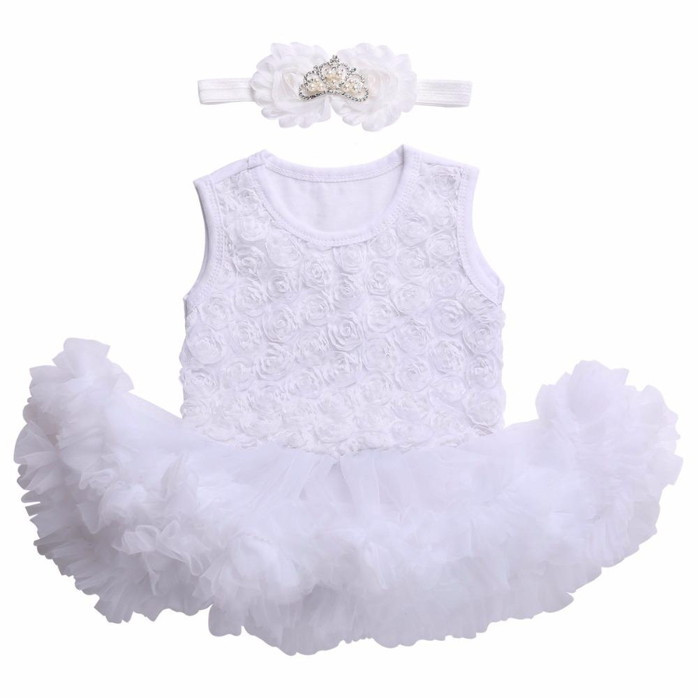 d814b3f68 2019 Newborn Baby Girl Dress 2017 Kids Clothes Baptism Christening ...