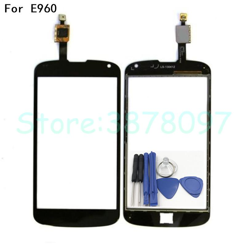 100% Tested Original 4 7 inches For LG Nexus 4 E960 Digitizer Touch Screen  Replacement +Free Shipping
