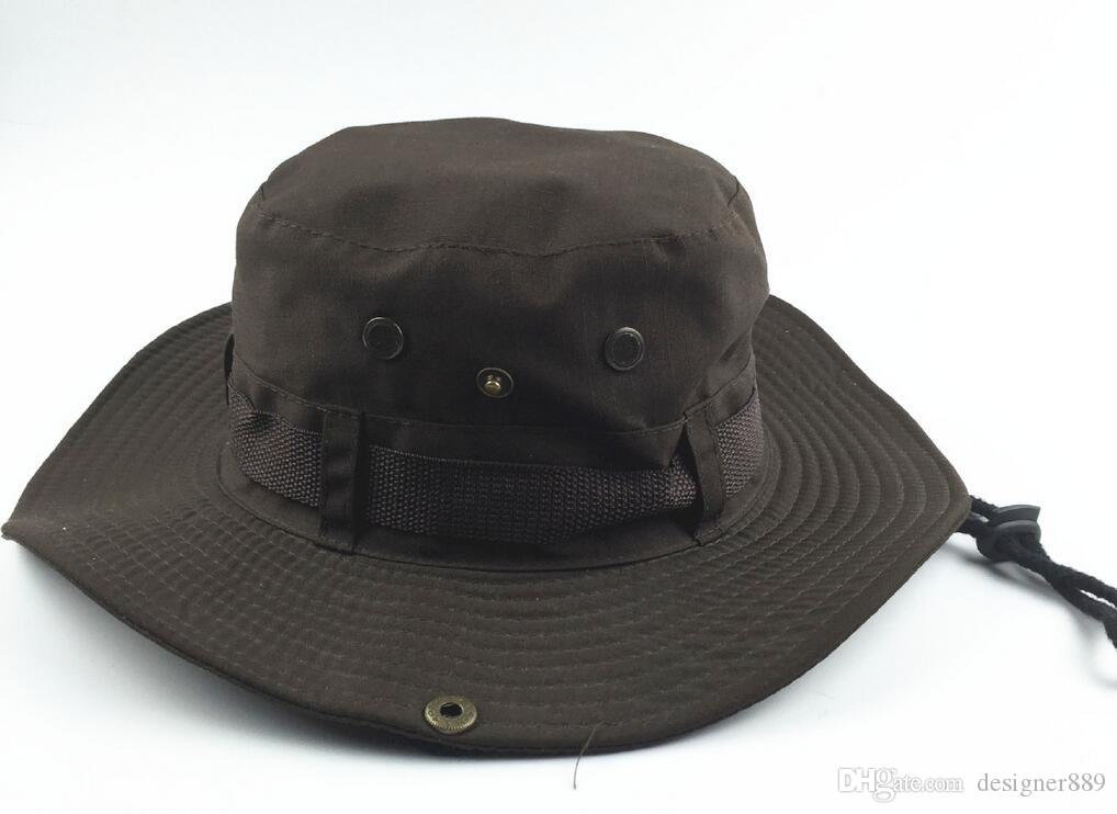 جديد وصول عارضة ردور ظلة قبعة قبعة هومبورغ سفر الصيد الغربية كاوبوي الأزياء دلو القبعات للرجال