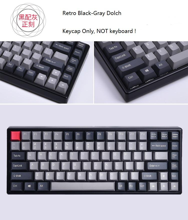 f4bb47a1a77 Keycool 84 Mini Mechanical Keyboard PBT Keycap Mini84 Compact Game Keyboard  Side Print Keycaps Retro Dolch Cherry Mx Keys Wireless Keyboard For Laptop  ...