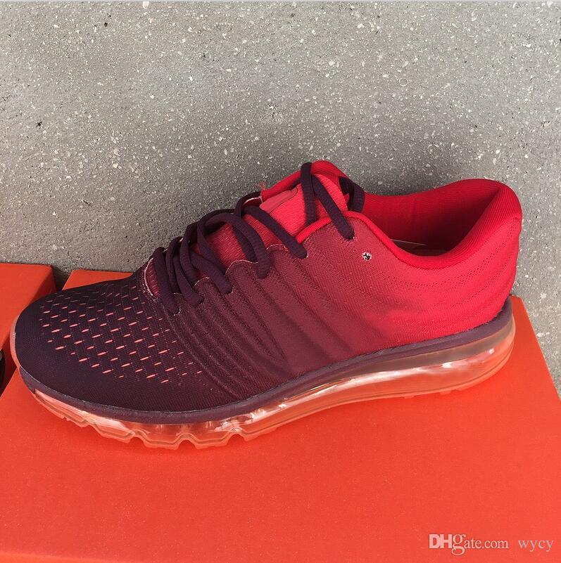Sıcak Satış Yüksek Kaliteli Örgü Örgü Spor Erkekler Kadınlar 2017 Koşu Ayakkabıları Ucuz Spor Eğitmen Sneakers Eur 36-45