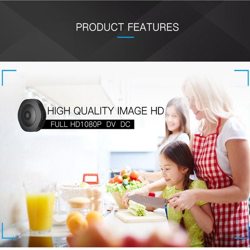 H6 HD WIFI 카메라 1080p의 IP 야외 IR 밤 비전 카메라 모션 감지 스포츠 DV 휴대용 자전거 카메라 미니 DVR 홈 보안 캠