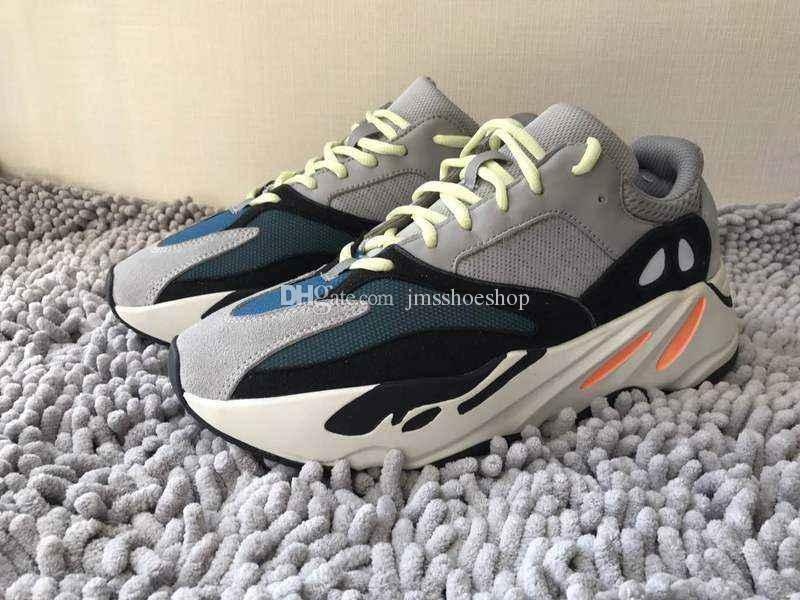 4d3a83777 2018 New Kanye West Boost Wave Runner 700 Boost Shoes Street ...