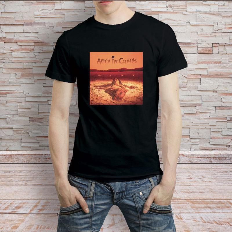 3dbb61088a4b Make Custom T Shirts Regular Alice In Chains Dirt Logo Men O Neck Short  Sleeve Tee Shirt Themed Shirts Latest T Shirts Design From  Shortshirteemachine, ...