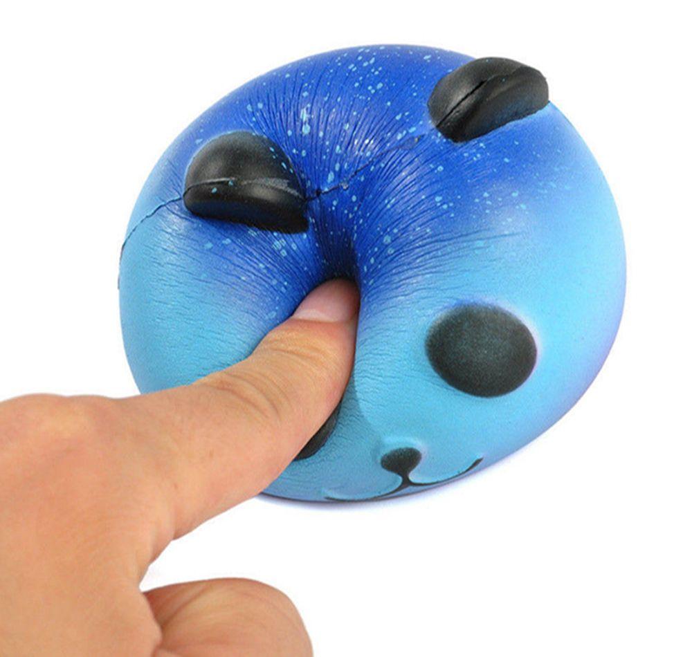 Cute Jumbo Panda Squishy Stress Reliever Slow Rising Squeeze Galaxy Star Scented Panda Toy Gift DDA113