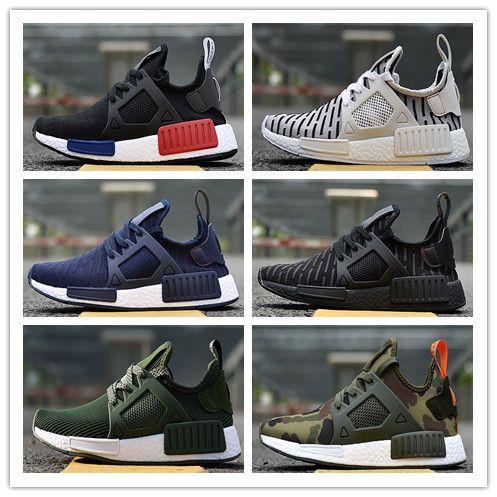 695bef98b 2018 NMD XR1 PK Running Shoes Sneaker Men Women NMD XR1 Primeknit OG ...