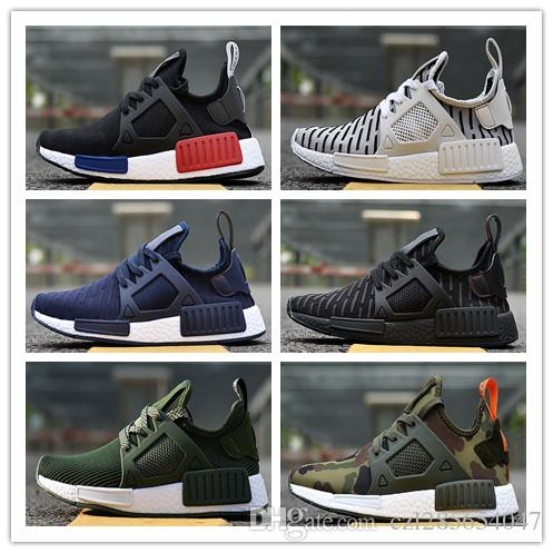 6a6e74b37e1b3 2018 NMD XR1 PK Running Shoes Sneaker Men Women NMD XR1 Primeknit OG PK  Zebra Bred Blue Shadow Noise Duck Camo Sport Shoes Sneakers 36 45 Walking  Shoes ...