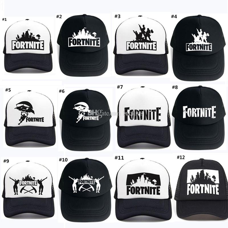 3c3b013f896 20 Style Fortnite Cap 3D Print Ponytail Baseball Caps Fortnite Man ...