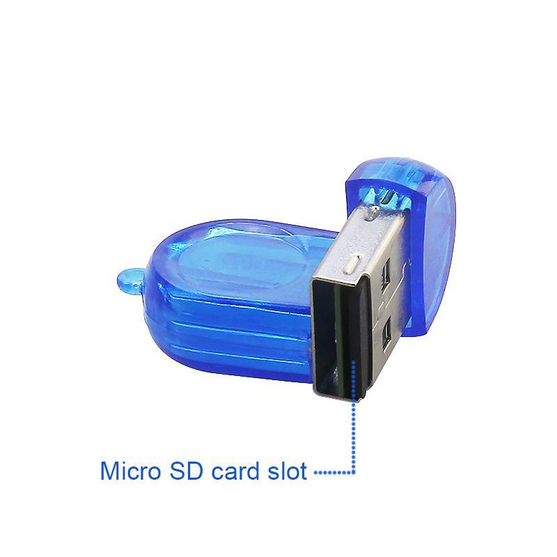 Usb 2.0 Micro Sd TF T-Flash Mini Card Reader адаптер для ПК Mac ноутбук Microsd карты памяти высокая скорость 480 Мбит / с бесплатная доставка высокое качество
