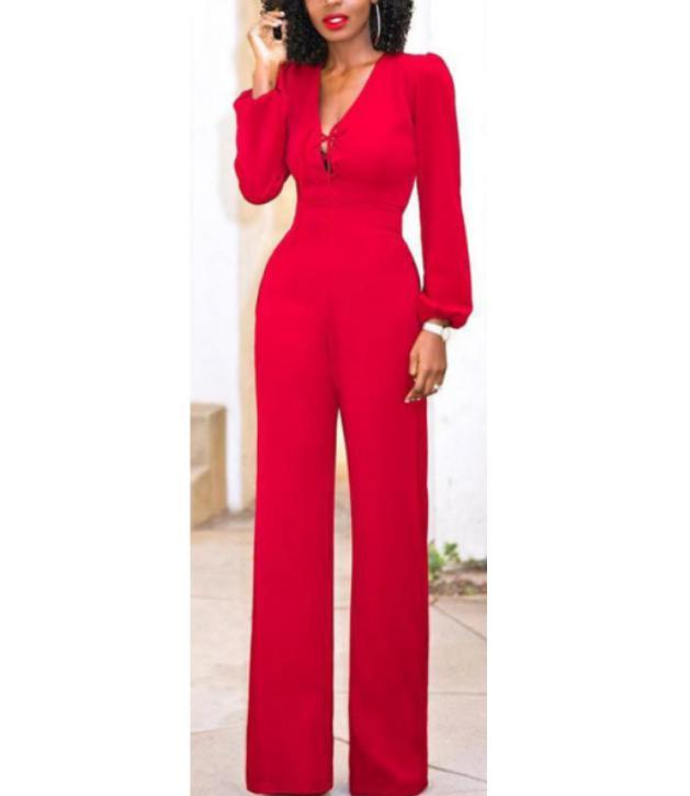 429332d20989e 2019 Vintage Rompers Womens Jumpsuit Casual Long Sleeve Jumpsuit Romper  Long Pants Trousers Clubwear From Sincha, $20.44 | DHgate.Com