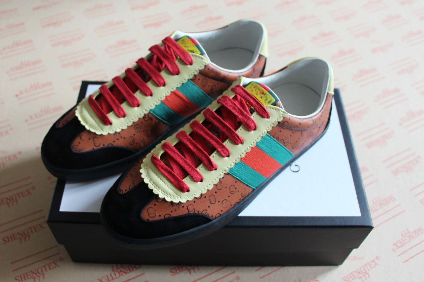 b27622f069a Mens Women Designer Shoe Fashion Dapper Luxury Brand Dan Casual Shoes Black  Light Brown White Python Leather Sneakers Designer Shoes Sneakers Mens  Designer ...