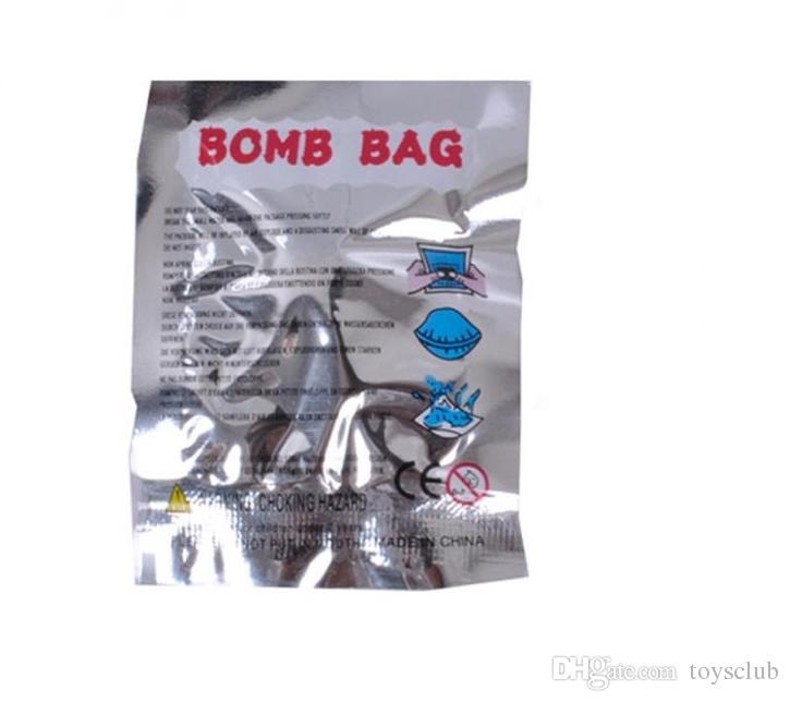 Perfume Bomb Fart Bomba Sacos Novidade Stink Bomba Fedorenta Engraçado Gags April Fools'Day Prático Piadas Gadget Prank Mordaça Presente