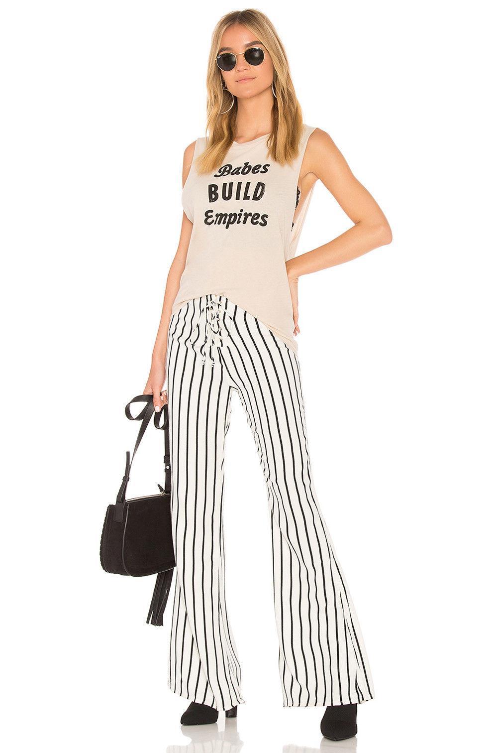 Mode Frauen Hohe Taille Retro Boho Lange Hosen Palazzo Vintage Breite Bein Lose Pailletten Damen Flare Hose