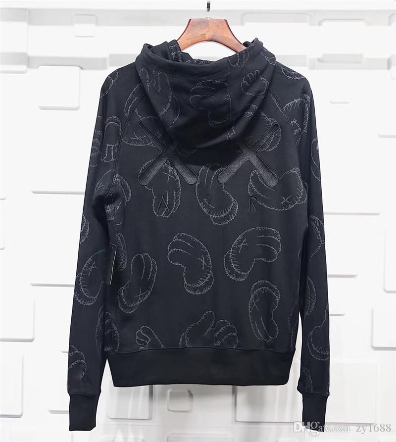 2018 Release KAWS X 2017 Air Apparel Men S Clothing PULLOVER HAT Men S And  Women Hoodies   Sweatshirts Fashion Hoodie US Size S XXL UK 2019 From  Zy1688 88273d58dd