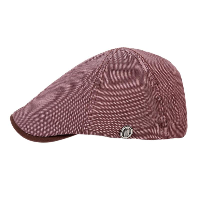 High Quality Men Women Vintage Golf Caps Baker Peaked Hat Linen Cotton Retro  Outdoors Golf Beret Flat Cap UK 2019 From Pekoe a309f73fed1