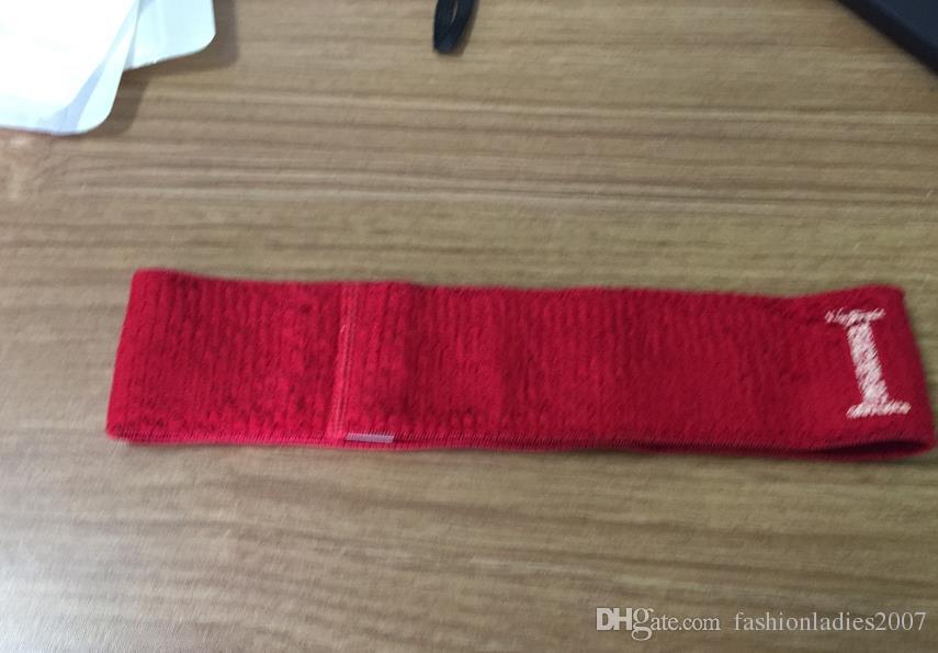 Марка Эластичная повязка для женщин и мужчин самого лучшего качества бренда зеленый и красный полосатой ленты для волос головной платок для детей головные уборы Подарки